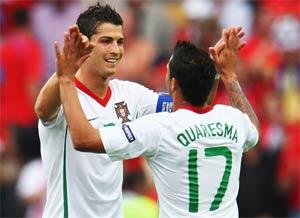 Portugal menang