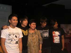 launching album terakhir peterpan 8 agustus 2008