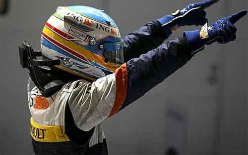 Akhirnya Alonso jualah yang juara!