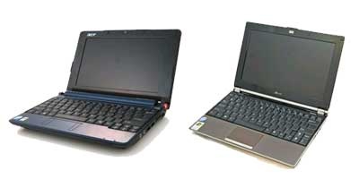 Asus Aspire One VS Asus Eee PC S101