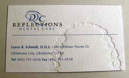 Ini nih kartu namanya Dokter Gigi..
