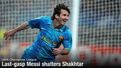 Messi menjadi penyelamat Barcelona dengan 2 golnya dimenit2 terakhir!