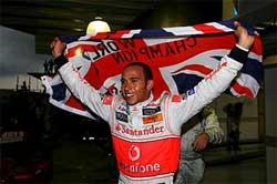 F1 2008 Champions!