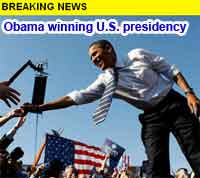 Obama The New President!