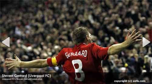 Liverpool - Madrid (4-0) 2 Gol Dari Gerrard